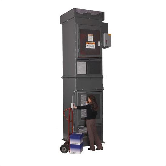 Modular Box Lift Dimensional Drawing